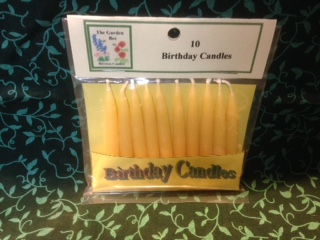 Tiny Taper Birthday Candles