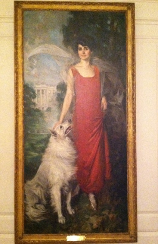 I love this portrait of Grace Coolidge at the White House