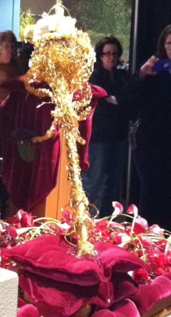 The golden sceptre