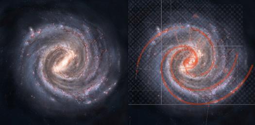 Fibonacci galaxy