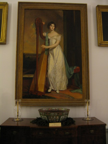 Portrait of Eliza Ridgely, the American heiress and mistress of Hampton for many years