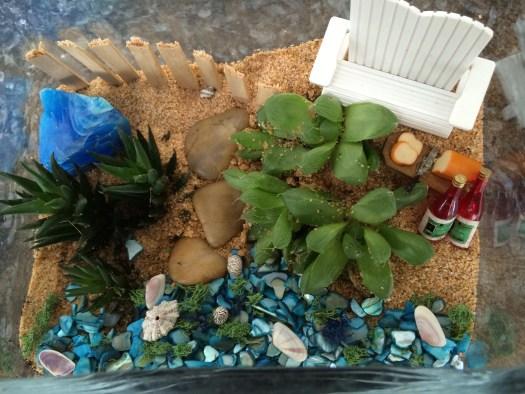 Succulent Beach Terrarium