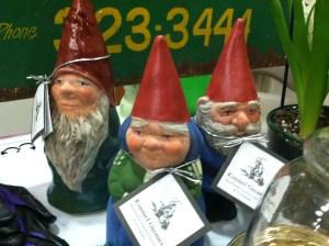 I love garden gnomes!