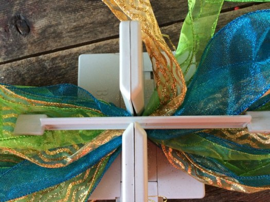 When using multiple layers of ribbon, it works best using a bow maker