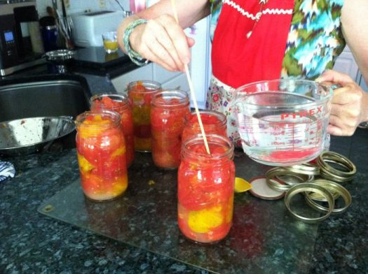 Canning up a storm