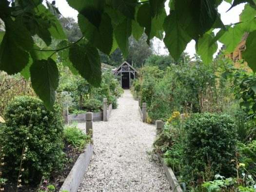 Claire's Outlander garden in Culross, Scotland, where many herbs and dried flowers are grown