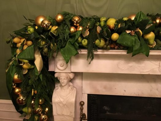 Green Room mantel done by Mandy Barkley, picture by Mandy Barkley