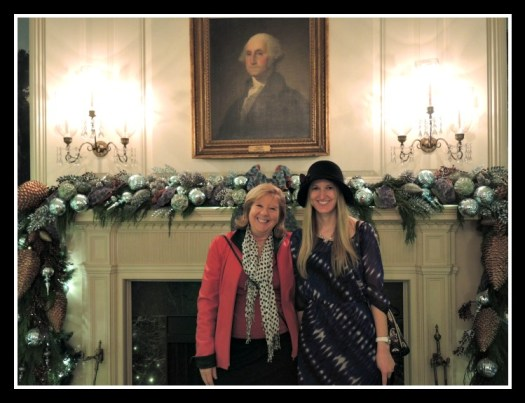 Obama Decorated Formal Dining Room
