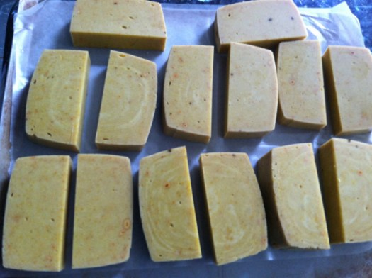 Citrus beeswax soap