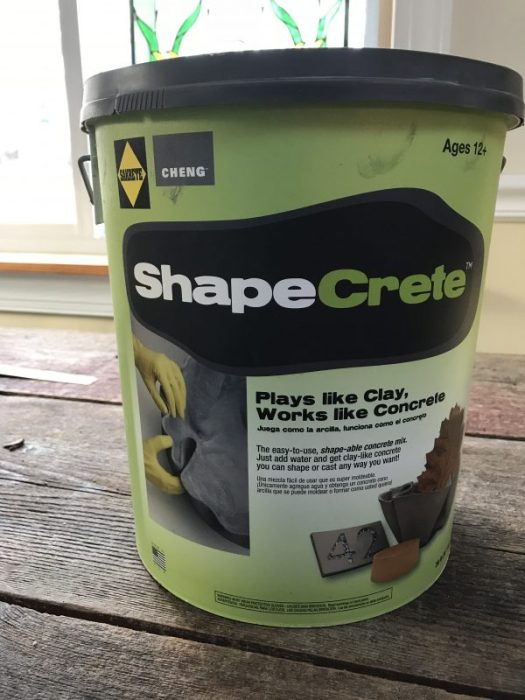 Shapecrete from Home Depot