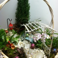 'A tisket, a tasket', garden in a basket