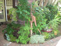 Another vignette with an old hand pump