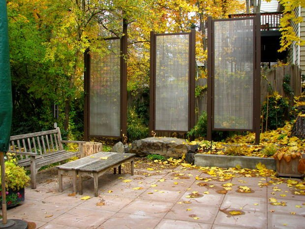 DIY Outdoor Screens And Backyard Privacy Ideas