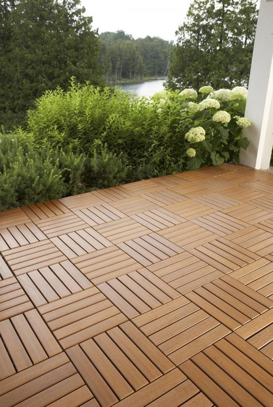 9 Diy Cool & Creative Patio Flooring Ideas  The Garden Glove