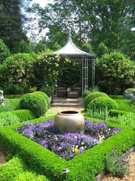 magical secret garden backyard