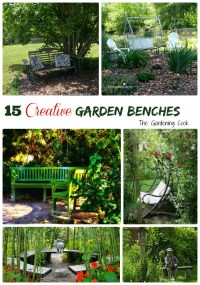 Garden Benches - 15 Creative Idea to Relax in Style