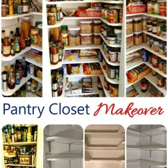 Kitchen Pantry Closet Orange Appliances Makeover Tutorial The Gardening Cook My Was A Sized Area Suffed To Gills I Could Not