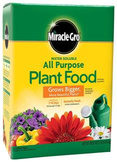 miracle gro all purpose plant food garden fertilizer