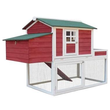 Pawhut Chicken Coop