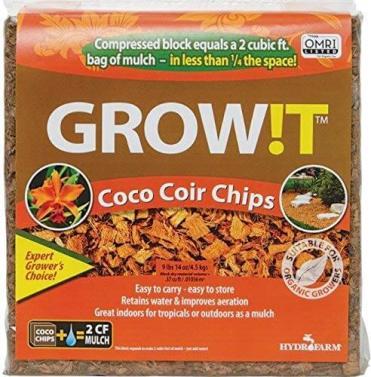 Hydrofarm Grow !T Planting Chips