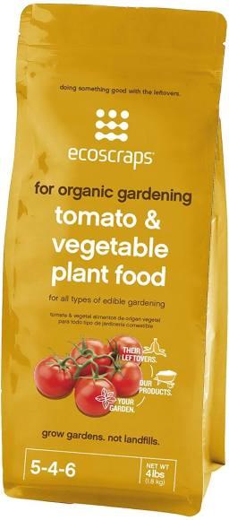 EcoScraps Organic Tomato Food