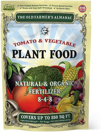 Farmers Almanac Organic Fertilizer