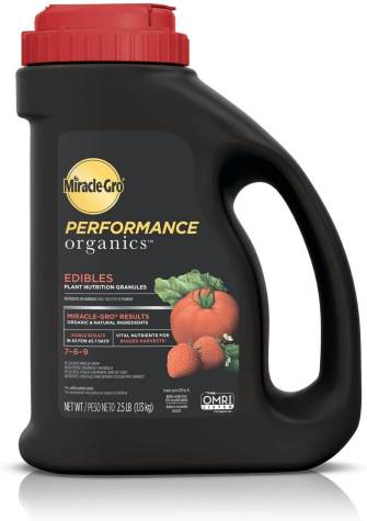 MIracle-Gro Performance Fertilizer