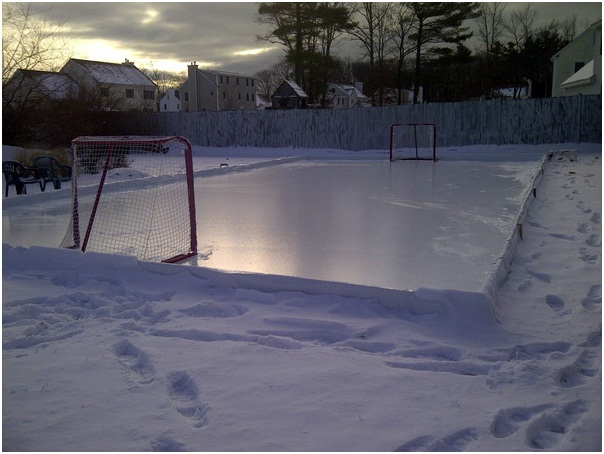 How To Build Ice Rink In Backyard how to build a ice rink in your backyard – beautiful home