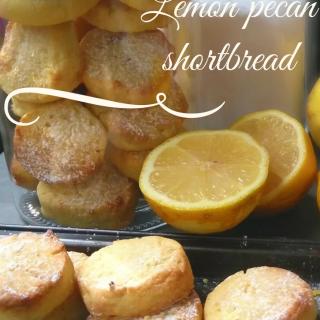 lemon pecan shortbread