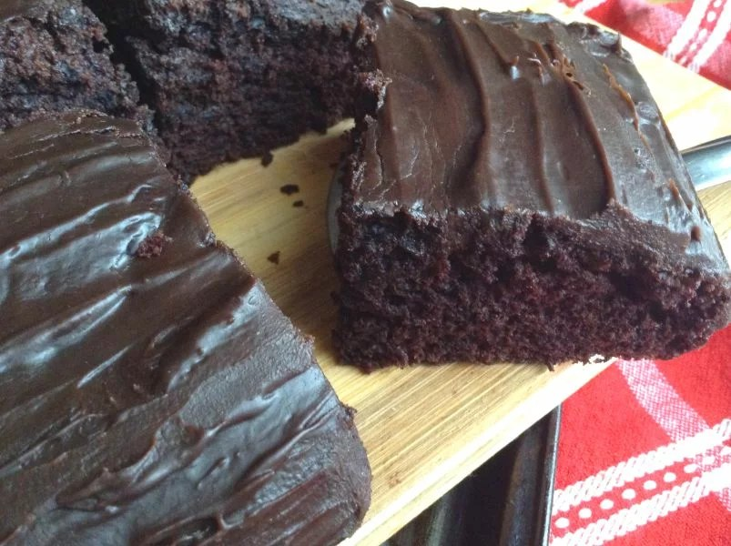 One Bowl Chocolate Cake ( No eggs, No butter)