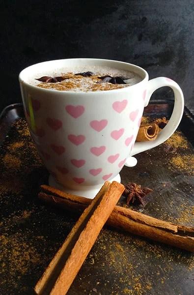 5 minute Spicy Chai Latte