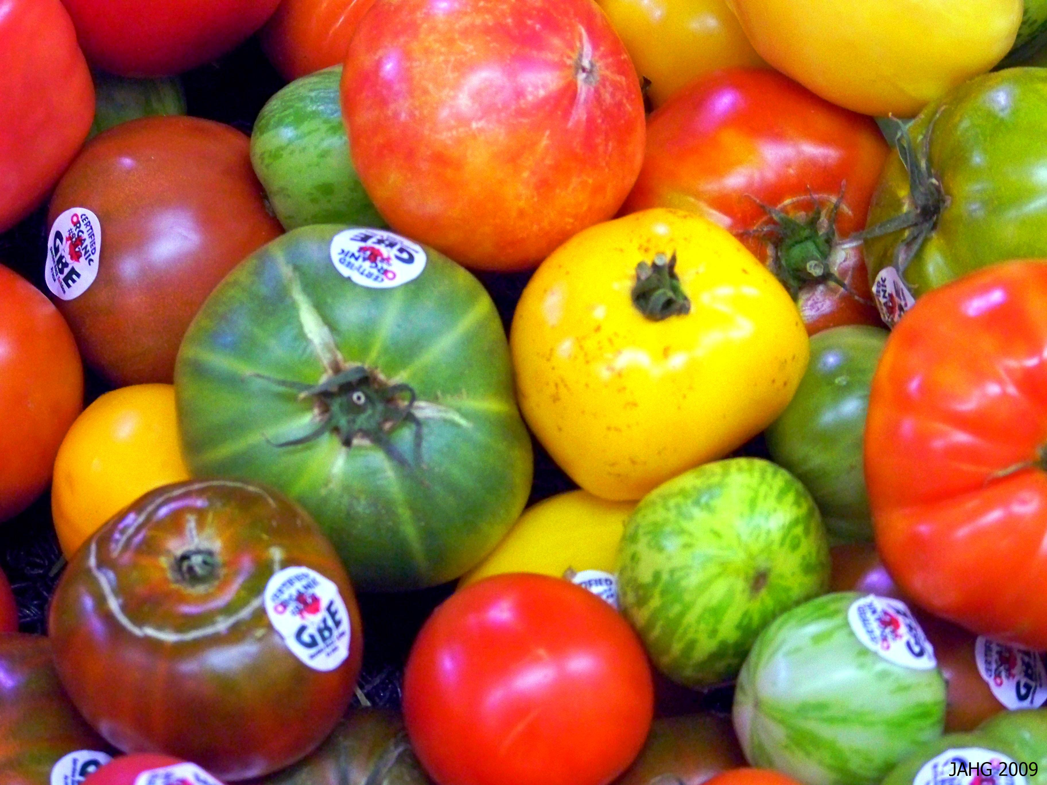 The many forms of heritage Tomatoes now available again for all to enjoy.