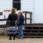 Mom and a sweet lady conversing (Hustletown Community Church)