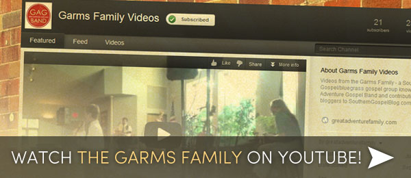 The Garms Family on YouTube