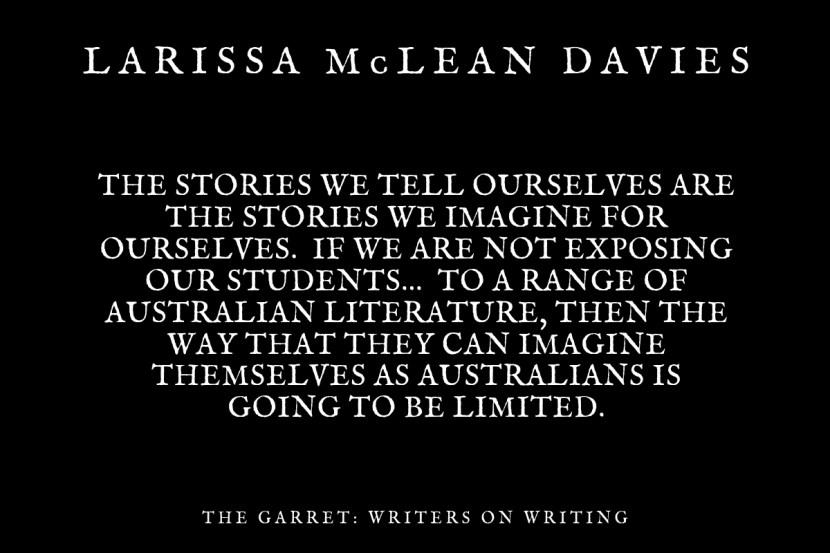 Maxine McKew_Larissa McLean Davies_The Garret