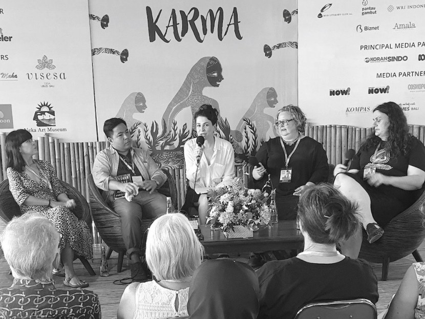 The Garret_Speculative Fiction_Ubud Writers and Readers Festival_2019