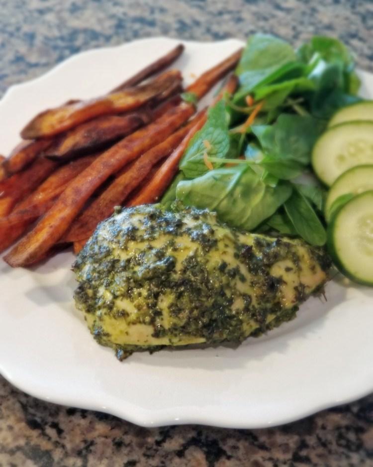 Paleo AIP gluten free fresh herb marinade for chicken, turkey, or pork