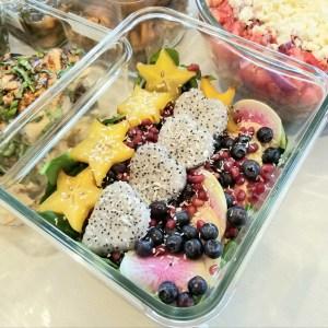 Stars and Heart Salad