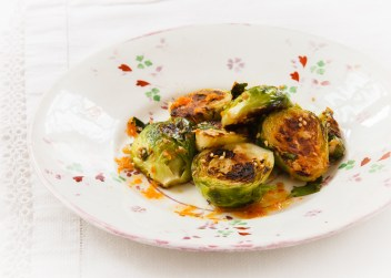 Seared Brussel Sprouts with Vietnamese Dipping Sauce-10