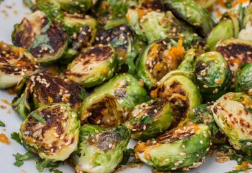 Seared Brussel Sprouts with Vietnamese Dipping Sauce-9