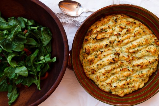 Brandade with Peppers, Olives and Arugula-2