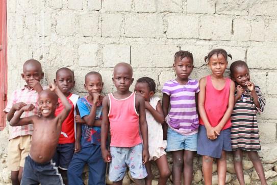 Rural children near Cange.