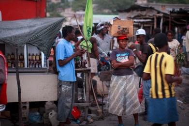 Market woman.