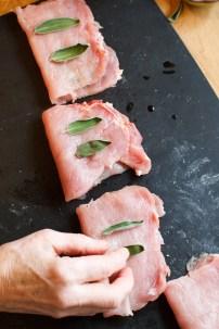 Pork Scaloppine with Prosciutto, Capers and Balsamic Vinegar TGF-11