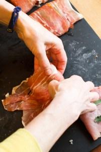 Pork Scaloppine with Prosciutto, Capers and Balsamic Vinegar TGF-13