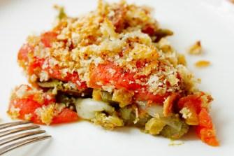 Eggplant, Pepper and Tomato Gratin-29
