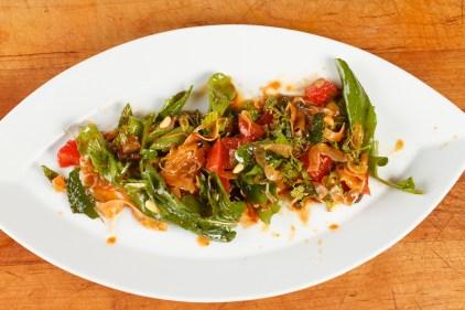 Spanish Mackerel, Saffron and Honey with Fennel - Blood Orange Salad-42