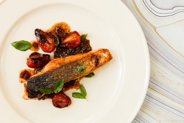 Salmon with Strawberries-0514