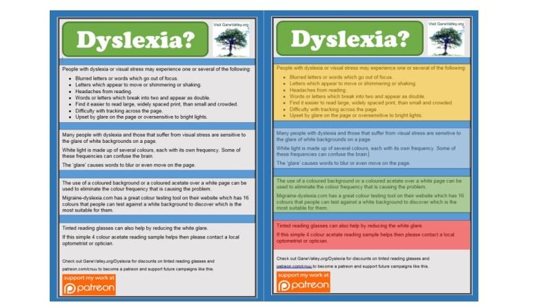 Dyslexia Awareness Campaign Upcoming >> Dyslexia Awareness Thegarwvalley Org