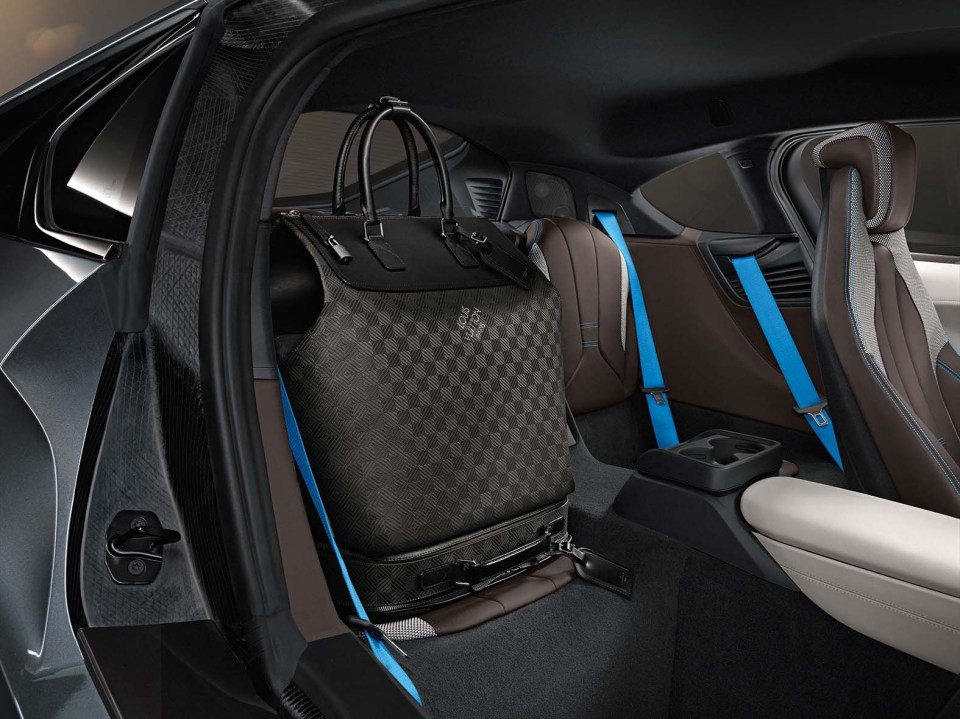 BMW i8 Louis Vuitton Bags 2